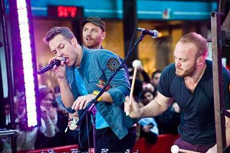 Coldplay perform in NYC to promote 'Mylo Xyloto' (Photo: Live4ever)