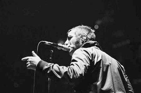 Liam Gallagher addresses the crowd during a gig on what would prove to be Oasis' final world tour (Photo: Live4ever Media)