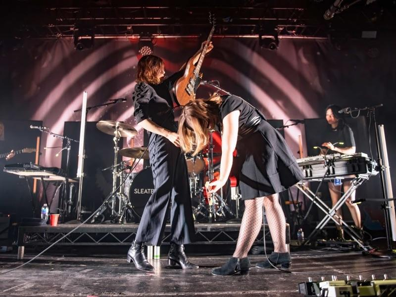 Sleater-Kinney live at Manchester Academy (Gary Mather for Live4ever)